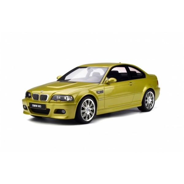 Otto  G025 1/12 BMW E46 M3 Coupe. Phoenix Yellow